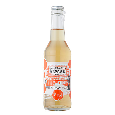 文楽BAR 酒蔵フルーツスパークリング≪アンズ≫